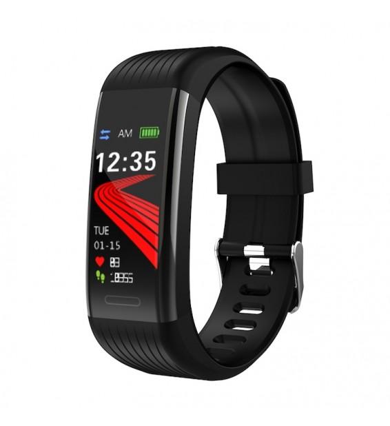 Smart band R11 bluetooth activity tracker cardio notifiche pressione sanguigna fitness per Android e iOS