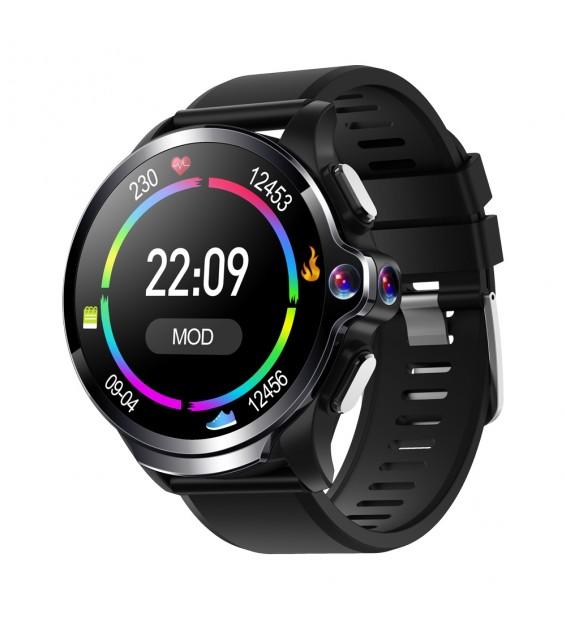 Smartwatch KC10 rete 4G WiFi GPS Android 7.1 doppia fotocamera 13MP 1GB ram 16GB rom compatibile Android e iOS