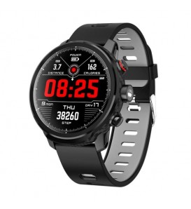 Smartwatch L5 impermeabile IP68 bluetooth activity tracker cardio Modalità multi sport notifiche fitness grey