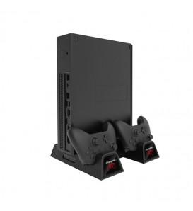 Xbox One/Slim/One X Vertical Stand con dock di ricarica per controller wireless +2 ventole raffreddamento