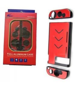Case di protezione in alluminio per NINTENDO SWITCH rossa