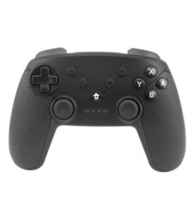 Controller wireless bluetooth per Nintendo Switch con funzione turbo nero