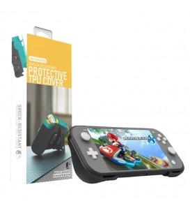 Custodia protettiva 2 in 1 PC rigido + TPU con 2 slot per schede di gioco e supporto per Nintendo Switch Lite