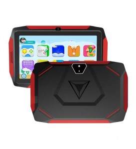 KIDS TABLET per bambini HD 7 pollici Android 9.0 Wifi 1g ram 16g rom nero