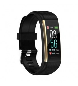 Smart band R11 bluetooth activity tracker cardio notifiche pressione sanguigna fitness per Android e iOS oro