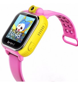Smartwatch Kids per bambini bluetooth GPS compatibile Android e iOS chiamate e notifiche