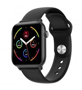 Smartwatch KW37 PRO bluetooth waterproof IP68 notifiche cardio multi-sport temperatura nero