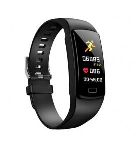 Smart band Y9 bluetooth activity tracker cardio notifiche pedometro fitness multi sport nero