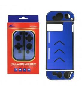 Case di protezione in alluminio per NINTENDO SWITCH blu