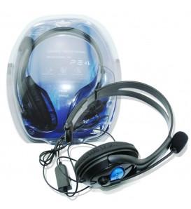 Cuffie da gioco stereo gaming per PS4 TV MP4 PC computer