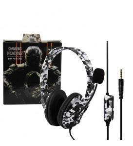 Cuffie da gioco stereo gaming per PS4 e XBOX camouflage