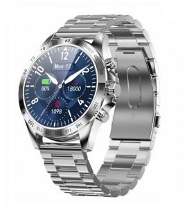 Smartwatch in acciaio LW09 wr 3ATM bluetooth 5.0 notifiche cardio multi sport