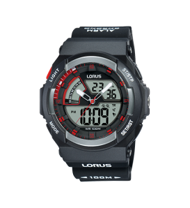 Orologio uomo LORUS digitale e analogico cronografo wr 100 metri - R2321MX9