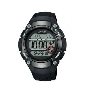 Orologio uomo LORUS digitale cronografo sveglia  wr 100 metri - R2327MX9