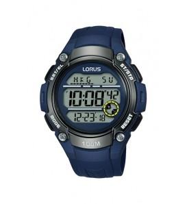 Orologio uomo LORUS digitale cronografo sveglia  wr 100 metri - R2329MX9