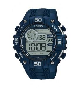 Orologio uomo LORUS digitale sveglia cronografo wr 100 metri - R2357LX9