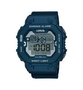 Orologio uomo LORUS digitale sveglia cronografo wr 100 metri - R2399KX9