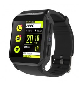 KW06 IP68 Waterproof GPS Smart Watch Android 5.1 MTK6580 Heart Rate Monitor Bluetooth Smartwatch Support SIM Card Camera