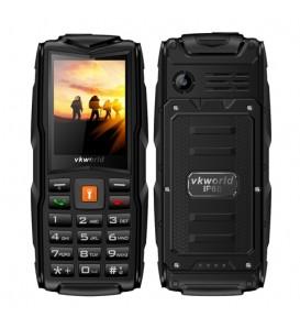 Waterproof Mobile Phone IP68 2.4 inch GSM FM 3 SIM Cards Slot 3000mAh Cellphone LED Light